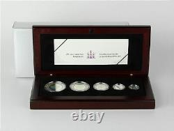 2003 Canada $1-5 Silver Maple Leaf Hologram 5 Coin Set with Case & COA