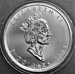 2003 Canada Hologram Silver Maple Leaf Fractional Set