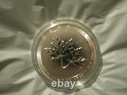 2017 $50 Fine 10 tr oz Silver Coin Magnificent Maple Leaves Leaf Canada