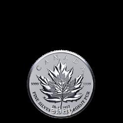 2017 Canadian Silver Maple Leaf Fractional Coin Set Celebrate the Maple Leaf