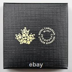 2018 $20 Four Seasons of the Maple Leaf Coin Elliptical 1 oz Pure Silver Proof
