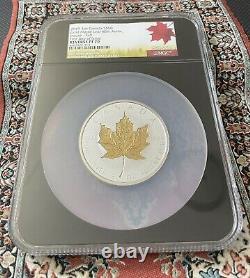 2019 3oz Canada $50 Gold Maple Leaf 40th Anniversary Incuse-Gilt NGC PF70 FDOI