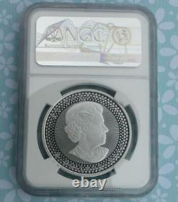 2019 NGC PR 70 Pride of Two Nations Modified Proof Canada $5 Silver Maple Leaf