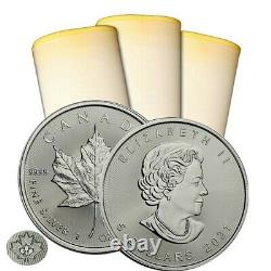 2021 1 oz Canadian Silver Maple Leaf 500 Coins Sealed Box IN STOCK