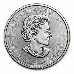 2021 Canada 100-Coin Silver Maple Leaf APMEX Mini Monster Box SKU#218773