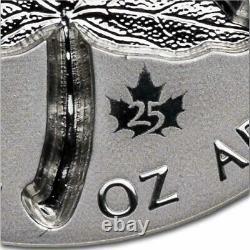 2021 Canada 1 oz Silver $20 Super Incuse Maple Reverse Proof SKU#233986