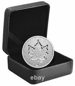 2021 Canada 1 oz Silver Maple Leaf Super Incuse Reverse Proof $20 Coin OGP
