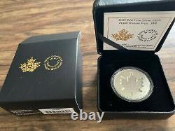 2021 Canada Super Incuse Maple Leaf SML 25th Privy 1oz Pure Silver Coin
