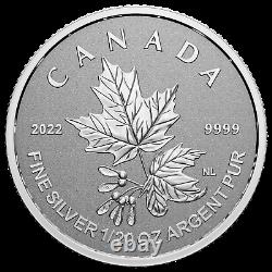 2022 Canada Maple Leaf Radiant Crown 1.90 oz. 999 Silver Coin Set 3,000 Made