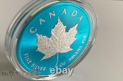 Canada 2021 $5 Maple Leaf SPACE BLUE 1 oz