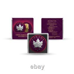 Canada 2021 $5 Maple Leaf Space Metals II 1 oz