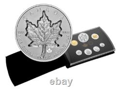Canada $20 Dollars Super Incuse Silver Maple Leaf Coin gift set, 2021