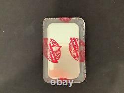 Scarce 1981 Engelhard'Red Seal' Maple Leaf 1 oz. 999 Silver Bar S/N 161710 b3c